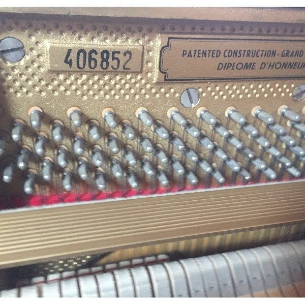 Petrof piano 115 zwart