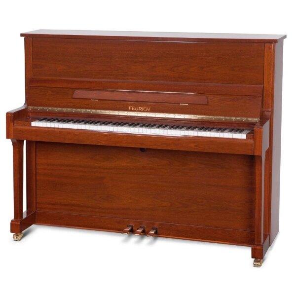 feurich piano 122 walnoot hoogglans